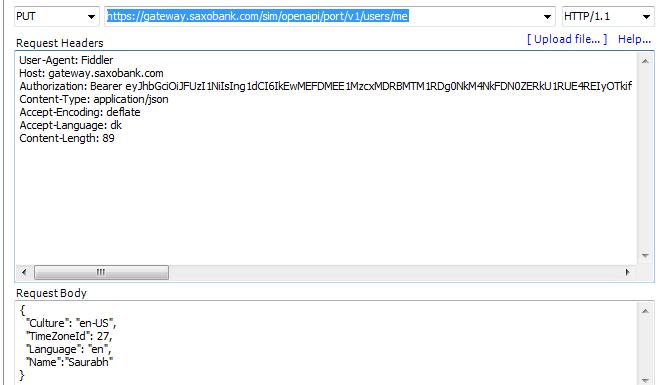 Saxo Bank Developer Portal